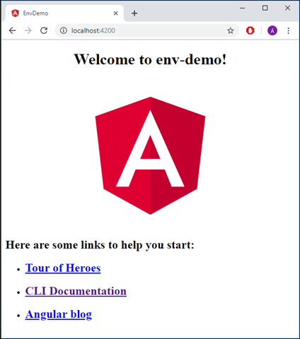 Angular 6 welcome
